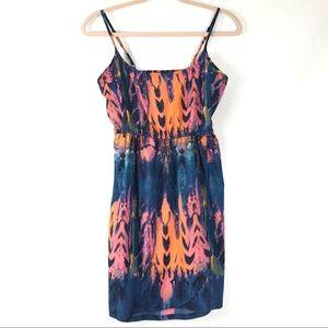 Hurley Colorful Summer Dress Adjustable Straps